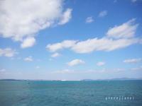 海中道路のブランコカフェ♪ - Green Floral