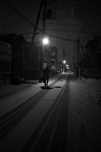 雪の夜#0120210204 - Yoshi-A の写真の楽しみ