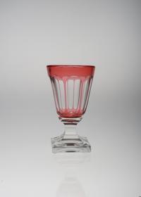 バカラ赤被せガラス リキュールグラス - GALLERY GRACE ギャラリーグレース BLOG