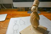 制作途中 - 木の工房るか