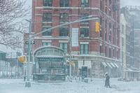 Snow Storm in New York City 2021(Feb1-Feb2) Vol.2 - Triangle NY