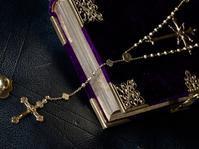 """""""あなたの祈りと共に"""" アンティーク・フレンチロザリオ・18kゴールド - 欧州アンティーク・ジュエリー"""