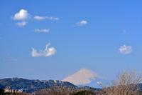 1月29日 ②『自宅から90km先の富士 2021』 - 写愛館