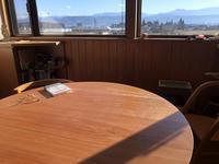 ダイニングテーブルのメンテ終了 - 安曇野建築日誌