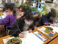 一宮教室、金曜日、児童コースを紹介します。 - 大﨑造形絵画教室のブログ