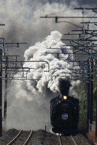 煙のマフラー - 蒸気屋が贈る日々の写真-exciteVer