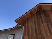 外壁、外構工事色合わせ - 【ワタシ流 暮らし方 】アトリエきらら一級建築士事務所