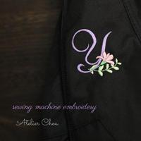 ナイロンバッグに刺繍♡ - Atelier Chou