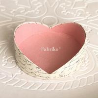 プチハート・キットができました♡ - Fabrikoのカルトナージュ ~神戸のアトリエ~