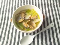 キャベツとアサリのスープ - Minha Praia