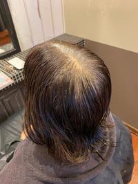 悩める大人髪の白髪染めはゆるっとヘナ染めで - 観音寺市 美容室 accha