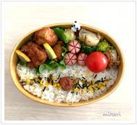 唐揚げで夜勤のお弁当。 - Mikari's Blog