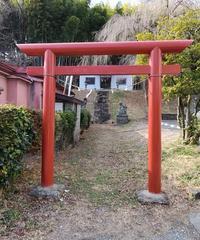 聯芳寺の隣の神社@福島県白河市 - 963-7837