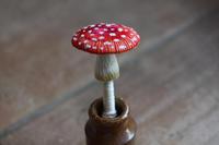 ベニテングタケの成菌が完成しました - フェルタート(R)・オフフープ(R)立体刺繍作家PieniSieniのブログ