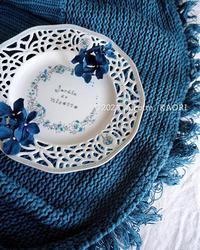 青い新作 - nicottoな暮らし~うつわとおやつの物語