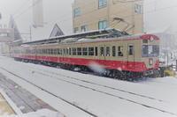 雪の近江鉄道と赤電 - HIRO☆の鉄旅ブログ
