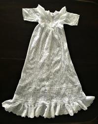 コットン総レース女児ドレス52   sold out! - スペイン・バルセロナ・アンティーク gyu's shop
