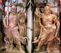 筋骨隆々の金剛力士像の仏画にチャレンジ - ライブ インテリジェンス アカデミー(LIA)