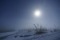 月光朝景 - デジタルで見ていた風景