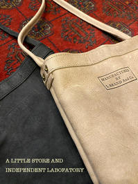 LEATHER MINI SHOULDER BAG - A LITTLE STORE And INDEPENDENT LABOFATORY