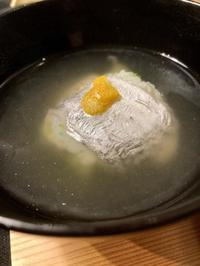 太刀魚のお椀 - 来客手帖~ときどき薬膳