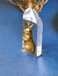 No.35. 水晶「ウサギ」SOLD - Mistletoe