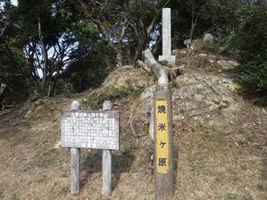 四王寺山へお花散策 -