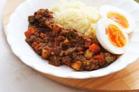 野菜たっぷりキーマカレー - 登志子のキッチン