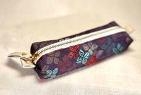使いやすいペンケース型ポーチ❤️赤い鳥居とポテチのハナシ - すみれクラフト(旧 おしゃべりすみれ)