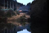 朝日に光る窓- 1992年・八高線 - - ねこの撮った汽車