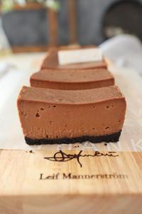 (レシピ)とろとろチョコチーズケーキVer.2 - おうちカフェ*hoppe