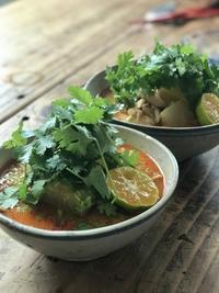 トムヤムクリーミースープはジャスミンライスとね - 六丁目日記