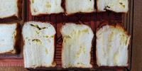 チーズ食パンとランチ - 空を見上げて