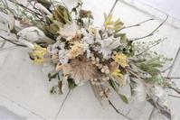 緊急事態宣言中は、1dayレッスンはお休みをさせていただいております。 - driedflower arrangement ✦︎ botanical accessory ✦︎ yukonanai ✦︎