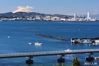 1月30日 ④ 『自宅から90km先の富士 2021』 - 写愛館