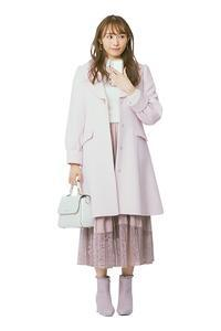 【フェミニン派】フレアスカートでふわっと女子力UP♡ 渡辺梨加さんの正統派美人コーデ - *Ray(レイ) 系ほなみのブログ*