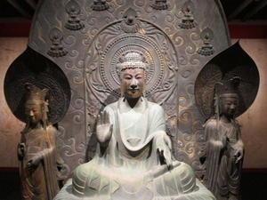 法隆寺釈迦三尊像のクローンが語る歴史 - 地図を楽しむ・古代史の謎