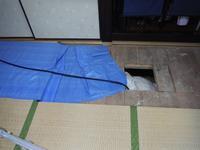 タイル張り浴室リフォーム~床下シロアリ消毒で工事終了となります。 - 市原市リフォーム店の社長日記・・・日日是好日