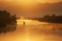 朝の漁 - デジタルで見ていた風景