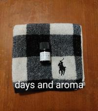車に乗ったときに。 - days and aroma