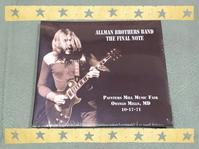 ALLMAN BROTHERS BAND / THE FINAL NOTE - 無駄遣いな日々