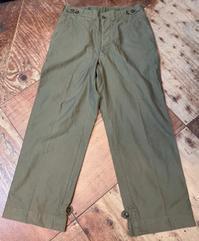 2月13日(土)入荷!実物40s U.S ARMY M-43  Field Pants ! - ショウザンビル mecca BLOG!!