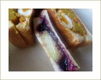 焼き芋紅はるかを挟んでのホットサンドがお昼ランチ - 芋姉ちゃんの 小さな喜び2