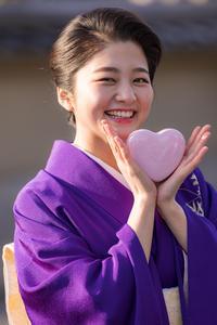 Valentine Day Wink!(祇園甲部紗月さん) - 花景色-K.W.C. PhotoBlog