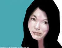 新作です。昨日描きました。 - Aki Tachibana's Blog