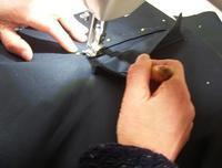 今日の教室(トレンチコート本縫い) - ドレスレイのブログ 洋裁教室 帽子教室 東京都 荒川区