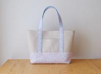 リバティ Jenny's Ribbons(ジェニーズ・リボンズ)のデイリートートバッグ(Mサイズ) - le petit sac
