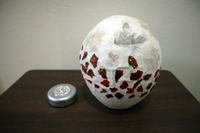 ペーパークラフト~ 和紙素材の押し花ランプシェイド ~ - 鎌倉のデイサービス「やと」のブログ