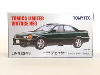 トミーテック・LV-N224b トヨタ チェイサー 2.5ツアラーV(濃緑) - 燃やせないごみ研究所