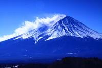 令和3年2月の富士(7)河口湖畔からの富士 - 富士への散歩道 ~撮影記~